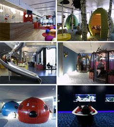 Google office...what an interesting and creative environment to work