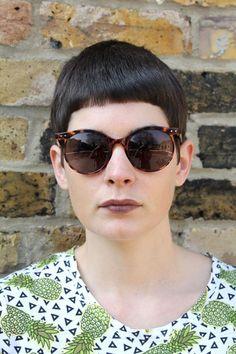 Vintage Round Sunglasses - Lunettes London