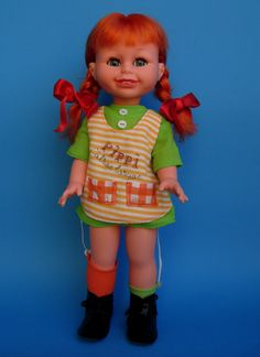 Mi Muñeca Pipi Calzaslargas