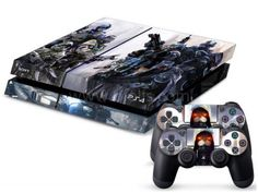 Autocollant skin PS4 - Killzone Shadow Fall - Type 1