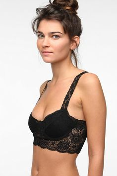 4e8bf0af43e Sparkle  amp  Fade Lace Bralette - Urban Outfitters Lace Bralette