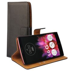 New 2015 Genuine Leather Case For LG G Flex 2 H955 LS996 H950 Vintage Phone Bag Wallet Style With Stand and Card Holders IDOOLS