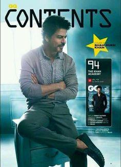 SRK shoots for GQ magazine