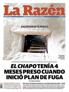 El Chapo tenía 4 meses preso cuando inicío plan de fuga :: La Razón :: 13 de julio de 2015