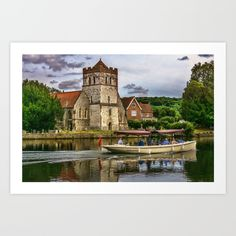 Collect your choice of gallery quality Giclée, or fine art prints custom trimmed by hand in a variety of sizes with a white border for framing. Fine Art Prints, Mansions, House Styles, Gallery, Image, Art Prints, Villas, Palaces, Mansion