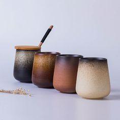 US$ 35.99 <b>Free Lettering</b> Simple Retro Frosted Ceramic Mug