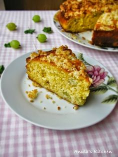 Anula's Kitchen: Gooseberry coconut cake....