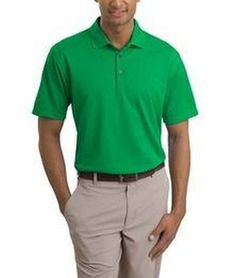 0198435b4 Nike Golf Tech Basic Dri-FIT Polo Golf Shirt 203690 Lucky green might be  able to help your handicap a bit, huh?