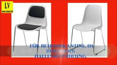 Videos Schulmöbel,Kunststoffschalenstuhl, Kunststoffschalenstühle,Hallen...