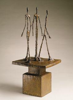 Alberto Giacometti: Three Men Walking II (1999.363.22) | Heilbrunn Timeline of Art History | The Metropolitan Museum of Art