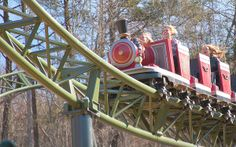 . Roller Coaster, Nashville, Tennessee, Park, City, Roller Coasters, Parks, Cities