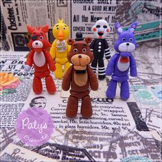 Topo de bolo Five Nights at Freddy's (FNAF) - Biscuit