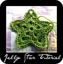 {crochê} jelly star tutorial