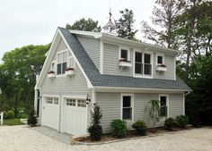 Detached Garage with Loft and Deck | Capewide Enterprises, LLC