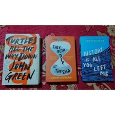 Turtles all the way down They both Die at the End History is all you left me John Green Adam SIlvera Fully Booked, You Left Me, Instagram Widget, Reading Challenge, John Green, All The Way Down, Bookcases, Bucket Lists, Bookstagram