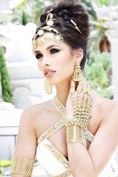 Egyptian Look is stunning