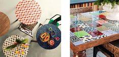 Te mostramos algunos consejos para disñar tu propia mesa mosaico utilizando azulejos enteros o en trozos. Un proyecto DIY perfecto para tus vacaciones.