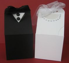 Wedding milk cartons- These would be cute as small milk cartons to hold candy favors!