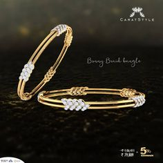 The value added first impression on this #mothersday . #bangles #diamond