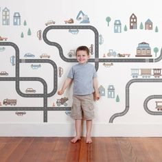 Transport Wall Stickers & Decals Got a little one who loves to move it, move it? Take your pick of trains, cars, trucks, boats, planes and construction Wall Stickers to create a totally awesome room setting in your kids bedroom or playroom! With a huge range of transport inspired wall sticker designs to choose from in 8 versatile colourways, you're sure to find something to start their engines with these wall stickers!