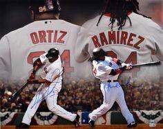 David Ortiz & Manny Ramirez Signed 16x20 Photo #SportsMemorabilia #BostonRedSox