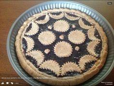 Crostata fatta con farina di grano saraceno