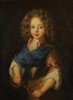 Louis-Alexandre de Bourbon, comte de Toulouse (1678-1737), legitimized son of Louis XIV and Madame Montespan, circa 1681, French school