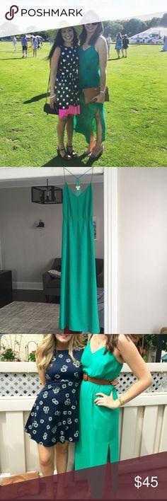 JCrew maxi dress Minor wear on back side of dress J. Crew Dresses Maxi