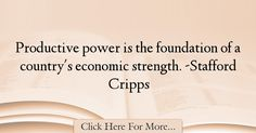 Stafford Cripps Quotes About Strength - 65131