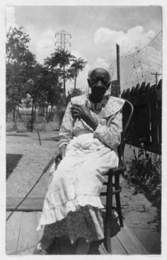 Fannie Brown, Waco,Texas. Portraits of Ex-Slaves 1930's/ Yes, even in Waco, Texas we had a past...