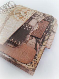 A bind-it-all scrapbook.
