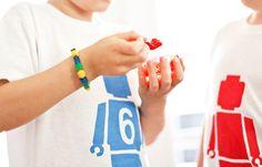 Lego man t-shirt for the birthday boy?