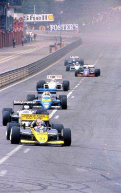 Adrien Campos - Minardi - 1987