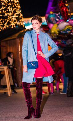 Coat: @zaraofficial  Dress: @zaraofficial Bag: @zaraofficial  Shoes: @zaraofficial  Accessory: @zaraofficial  📷 Dyre Espana 💄 Nina Borde Zara, Street, Coat, Dress, Shoes, Fashion, Costume Dress, Moda, Sewing Coat