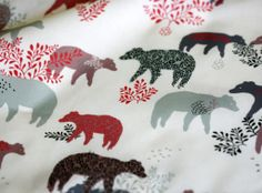 Berenstof Lila Ruby King fabric