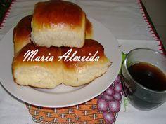 Sabor da Maria - Receitas, dicas e muito mais: Pãozinho doce simples.Essa massa fica igual aquele pão de padaria..doce e bem gostosinho.  Fiz várias receita pra chegar a essa textura.