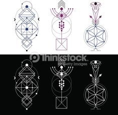 Clipart vectoriel : Sacred Geometry/ Totem