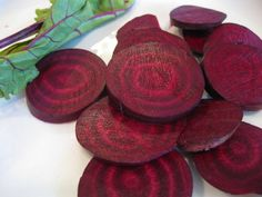 BEETS contain a type of antioxidant called betalains that helps repair and regenerate cells in the liver, your body's primary detox organ.