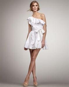 Rachel Zoe Isabelle Ruffle Dress. So Pretty!