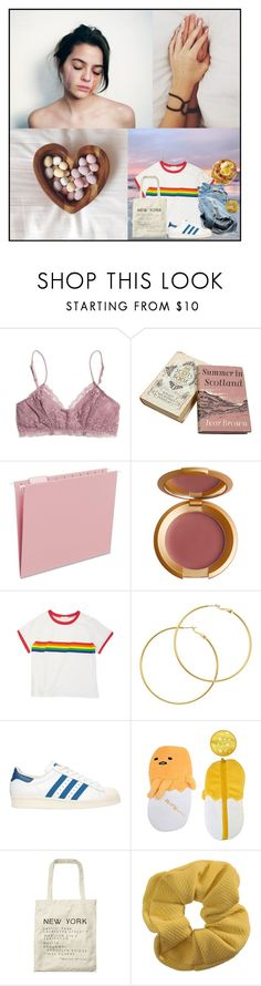 """Untitled #593"" by martin-elle ❤ liked on Polyvore featuring Beautiful People, Madewell, Smead, Lipstick Queen, Melissa Odabash, adidas Originals, Scotch & Soda and Topshop"