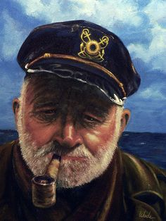 Old Sailor; by Lee Wade