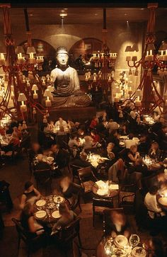 Buddha Bar, Faubourg St. Honore, Paris   http://www.buddhabar.com/en/restaurant-bar-lounge-buddha-bar