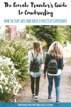 Couchsurfing has become quite controversial with plenty of negative accounts of mistreatment from hosts or surfers. While we can't ignore these stories, we do have some tips for how you can have a safe and positive experience couchsurfing, especially as a female. Click through to read now or pin for later!