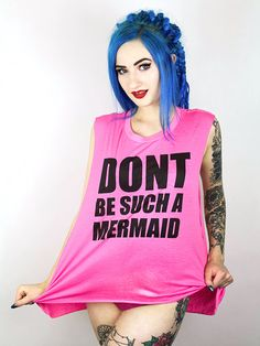 Mermaid 2 Kawaii Fashion, Scorpio, Rave, Mermaid, Punk, Candy, Sweet, Beauty, Tops