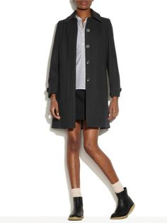 Manteau A plis - Noir » Women » Freudian Kicks