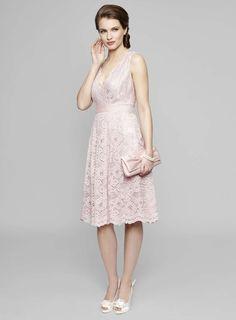 Soft Pink Lottie Lace Bridesmaids Dress http://www.weddingheart.co.uk/bhs-adult-bridesmaids-dresses.html