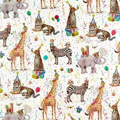 "Enjoy free shipping on all purchases over $75 and free in-store pickup on the Wild Birthday Animals Wrapping Paper at The Container Store. After selecting one of our sensational gift wraps, you'll need the perfect <a href=""/s/gift-packaging/gift-boxes/12"">Gift Box</a>. Then complete your gift presentation in impressive style with <a href=""/s/gift-packaging/ribbons-bows/12"">Ribbons, Bows</..."
