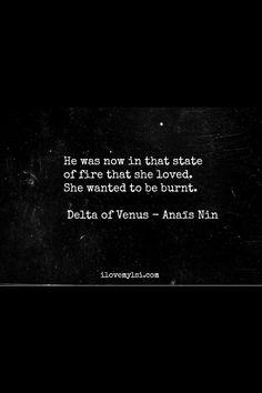 Anaïs Nin • Delta of Venus