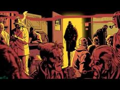 1/12 ch watchmen - adaptation of a graphic novel that touches many different themes, inc crime, war and the fight for justice in an alternate reality in 1980s NYC. Each character itself is symbolic as well, my personal favorite being Rorsarch.