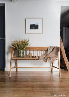 Editor Obsession: HK Living's Wooden Bench | Rue